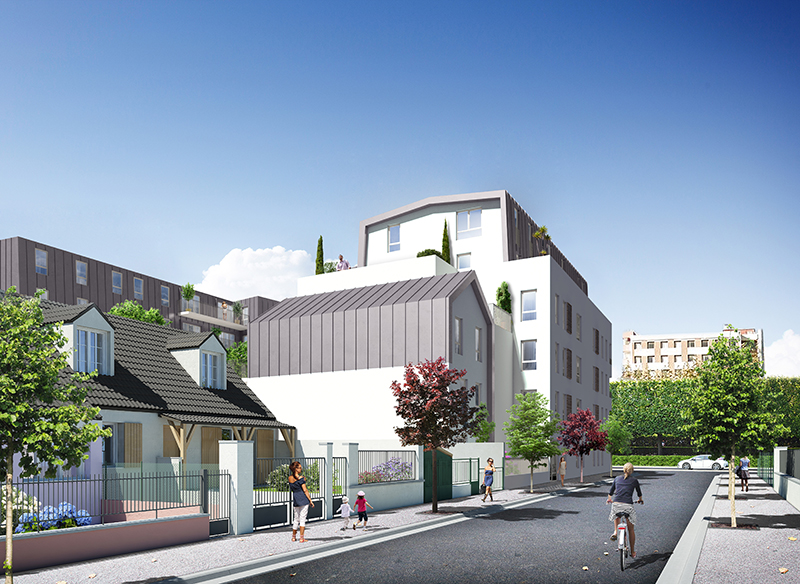 Gorki logements agence dmp for Ouvrage architectural